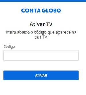 Ativação Smart Sony - Canais Globo (Foto: Canais Globo)