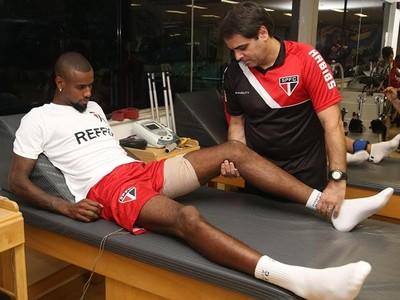 Felipe Santana São Paulo (Foto: Site Oficial / saopaulofc.net)