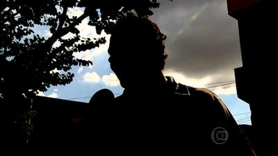 Suspeito de injúria racial contra Fabiana diz que não ofendeu a jogadora do Sesi-SP (Foto: Reprodução/TV Globo)