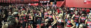 Veja fotos do baile rubro-negro (Marcos Dantas/G1 AM)