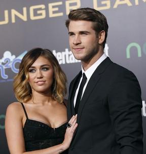 Miley Cyrus e Liam  (Foto: Agência/ Reuters)