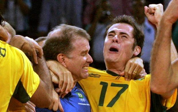 ricardinho bernardinho seleção brasileira vôlei (Foto: Reuters)