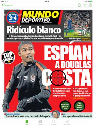 Douglas Costa estaria na mira do Barça (Foto: Reprodução)