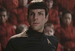 Zachary Quinto é Spock no filme 'Star Trek' (Foto: Divulgações)