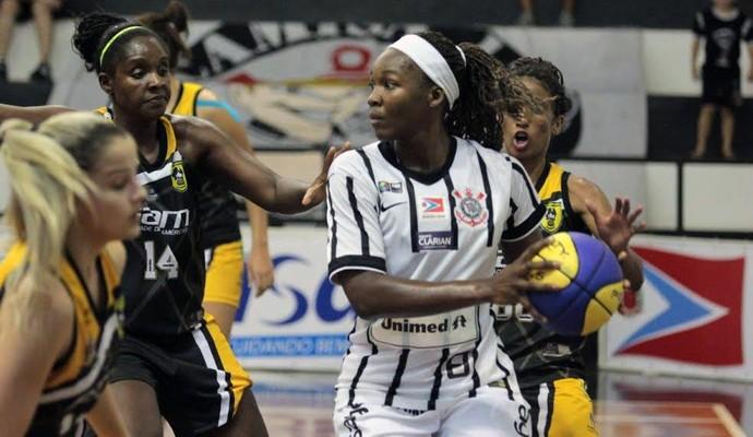 Corinthians/Americana x São Bernardo - Campeonato Paulista de basquete feminino (Foto: Divulgação / Corinthians Americana)