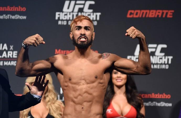 pesagem UFC - Pepey (Foto: André Durão)