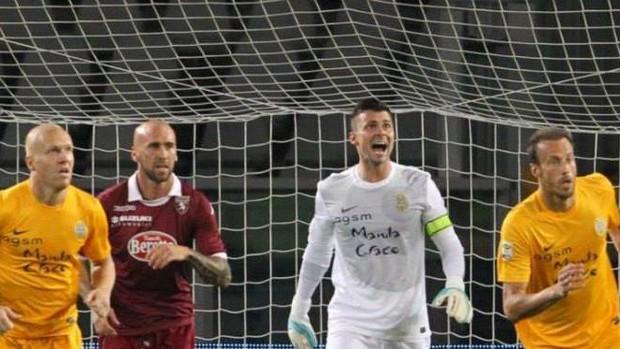 Rafael, goleiro do Verona (Foto: Divulgação/Hellas Verona)
