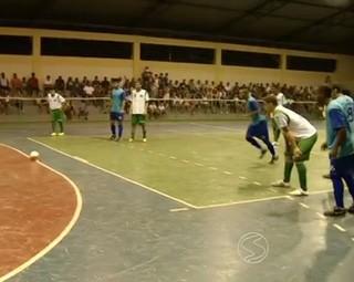 Resende venceu Sapucaia pela Copa Rio Sul  (Foto: Reprodução: Bom Dia Rio)