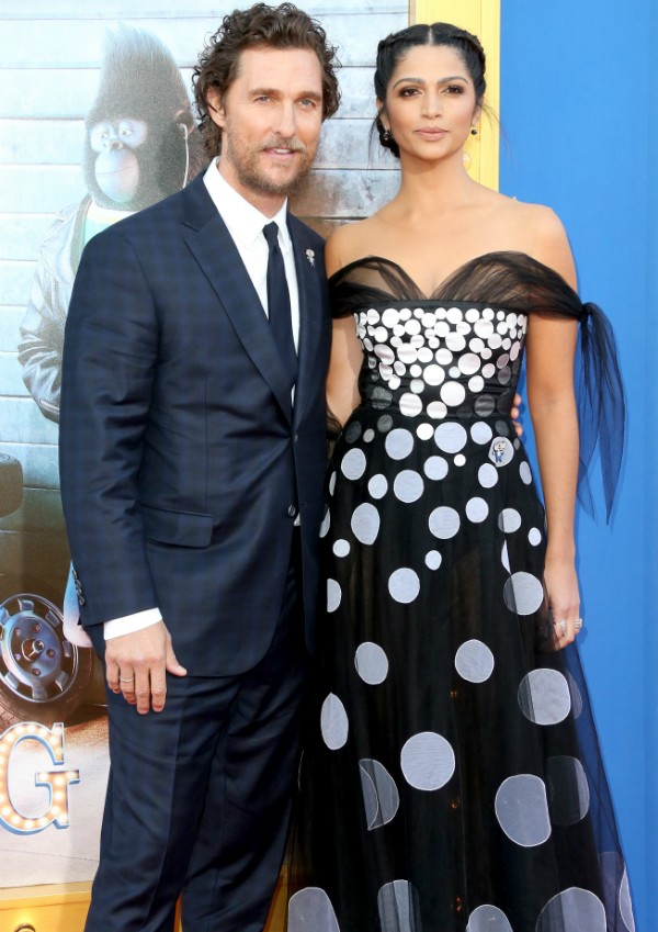 Matthew McCnonaughey e Camila Alves (Foto: Getty Images)