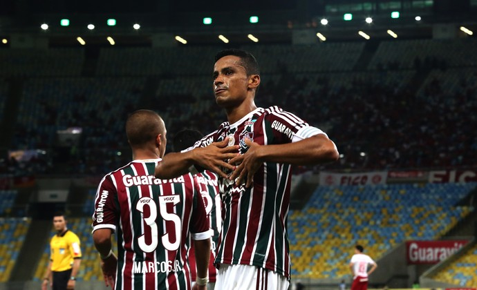 Cícero - Fluminense x Internacional (Foto: Nelson Perez / Fluminense FC)