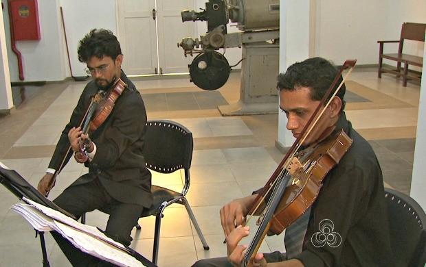 Trio Acreano fará apresentações do recital Paraíso durante toda a semana, na capital (Foto: Jornal do Acre)