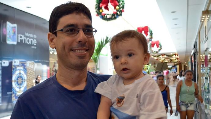 Brasil x Argentina - Stephano Vanderlei Barbosa, paraibano e torcedor da Argentina (Foto: Jocaff Souza/GloboEsporte.com)