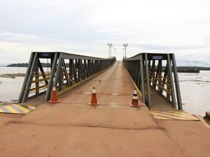 Porto do Cai N'água deve ser interditado nesta quarta-feira (Foto: Ana Luiza Moreira Costa/G1)
