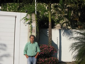 casa vizinho Benito di Paula Guilherme monotrilho são paulo (Foto: Leonardo Neiva/G1)