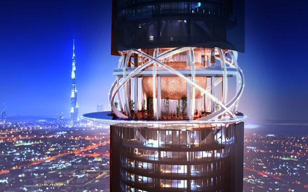 Hotel em Dubai terá floresta tropical interna de 7 mil m² (Foto: Divulgação)