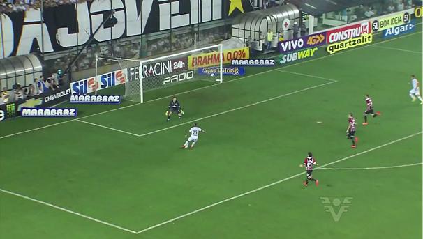 São Paulo e Santos se enfrentam nesta quarta no Morumbi (Foto: Reprodução/TV Tribuna)