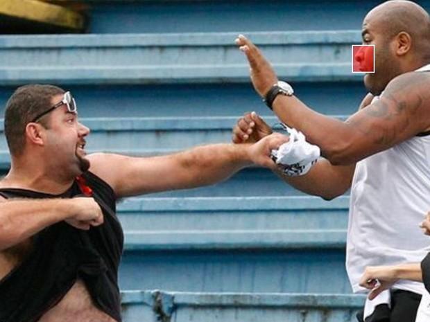 Criador quer que 'brigões' sejam banidos de estádios (Foto: Reprodução/Identique os Brigões)