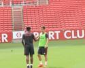 Lisca muda Inter em treino, saca Vitinho e testa Gustavo Ferrareis