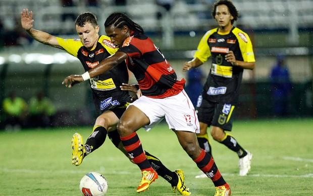 Diego Maurício Flamengo x Volta Redonda (Foto: Fábio Castro / Ag. Estado)