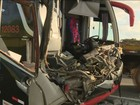 Policial militar morre em acidente entre caminhão e ônibus em Limeira