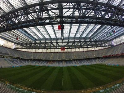 Arena da Baixada Atlético-PR Joinville (Foto: Divulgação/ Atlético-PR)