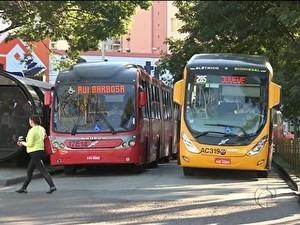 Empresas de ônibus de Curitiba pedem à prefeitura R$ 4 mi atrasados (Foto: Reprodução/RPC TV)
