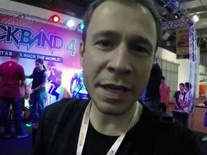Leifert mostra feira de games (Foto: Tv Globo/Gshow)
