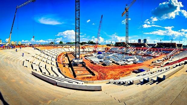 Arena da Amazônia 1 (Foto: Divulgação)