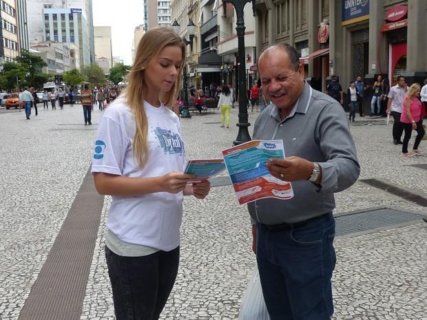 O público quis saber mais sobre as vantagens do sinal digital (Foto: Divulgação/RPC)