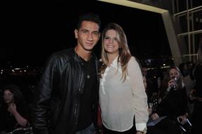 Ganso e Giovanna Costi (Foto: Thiago Duran/AgNews)