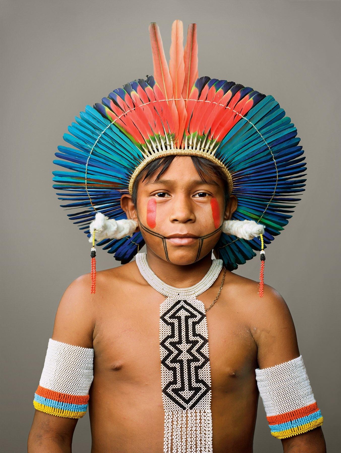 Tribo dos índios Kayapó serviu de inspiração para o designer de joias (Foto: Divulgação)