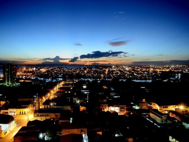 Vista área da cidade de Manaus (Foto: Chico Batata/Agecom)