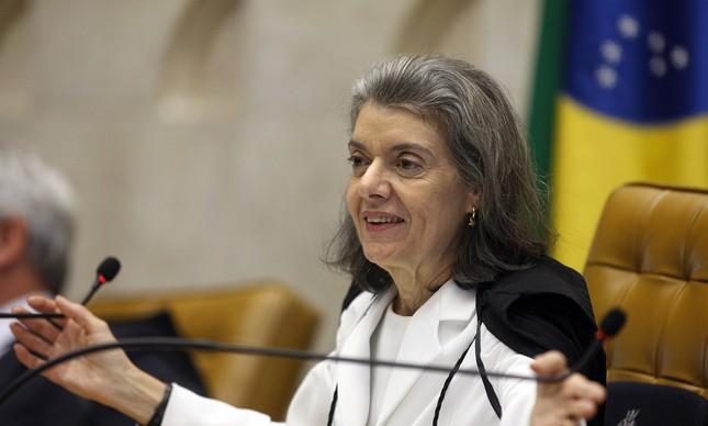 Cármen Lúcia, ministra do STF (Foto: Nelson Jr. / SCO / STF )