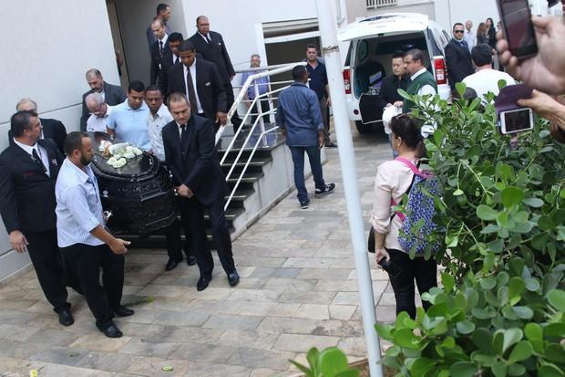 Velório Domingos Montagner (Foto: Thiago Duran/ Ag. News)