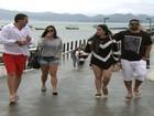 Começa a temporada de transatlânticos no litoral catarinense