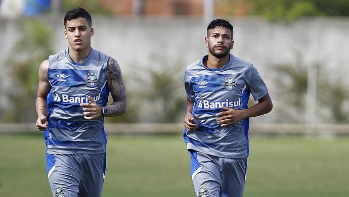 Beto da Silva treino do Grêmio (Foto: Lucas Uebel/Divulgação Grêmio)