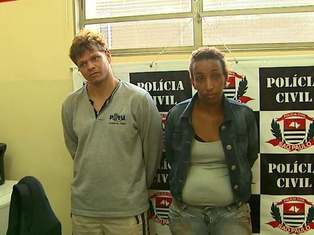 Roger Max Soares e Rebeca Soares da Silva confessaram crime à polícia (Foto: Paulo Souza/EPTV)