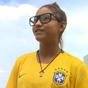 Mikaelly Brasil (Foto: Reprodução/TV Amazonas)