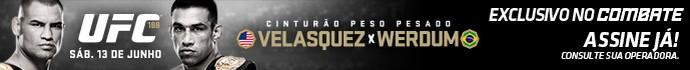 Header UFC 188 (Foto: Editoria de arte)