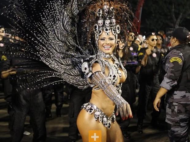 Galeria Reis do Carnaval - Viviane Araújo (Foto: Reprodução)