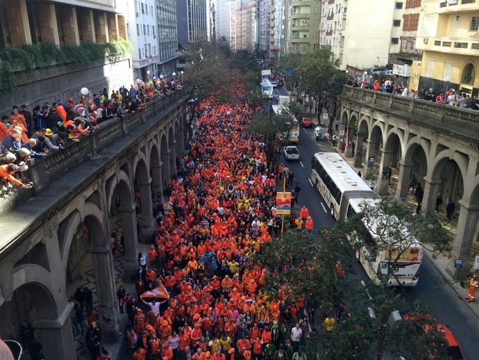 Holandeses Borges de Medeiros (Foto: Caetanno Freitas/GloboEsporte.com)
