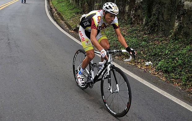 Alex Diniz, ciclista de Sorocaba - corrida (Foto: Ivan Storti/Divulgação)