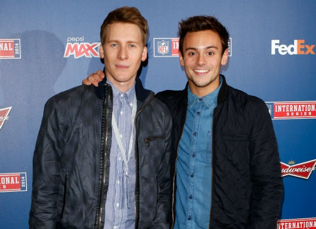 Tom Daley e Dustin Lance Black (Foto: Getty Images)