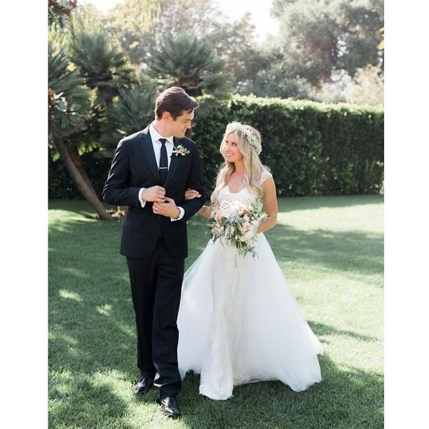 Ashley Tisdale e Christopher French (Foto: Instagram / Reprodução)