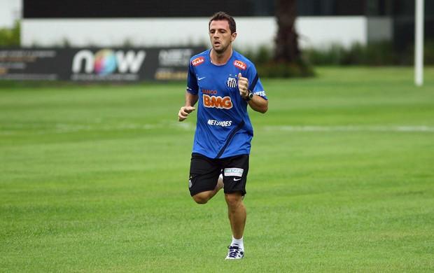 Montillo treino Santos (Foto: Mauro de Souza / Ag. Estado)