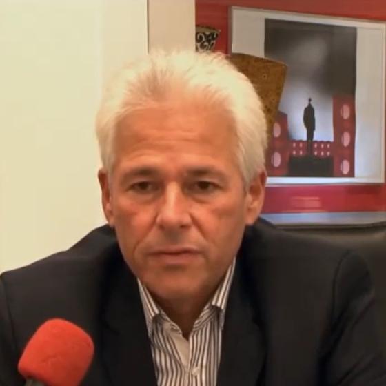 O ex-vide-presidente do Flamengo, Flávio Godinho (Foto: Reprodução/ Youtube)