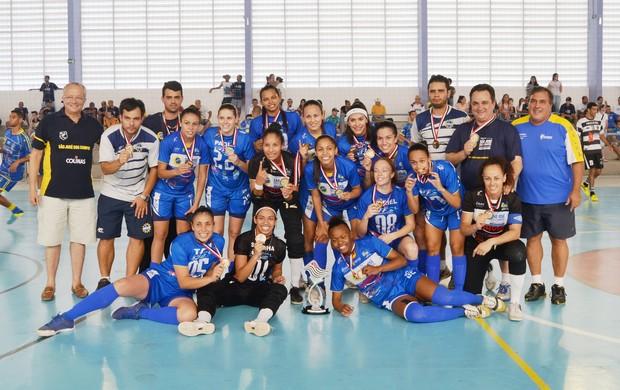 Futsal feminino de São José é campeão dos Abertos (Foto: Tião Martins/ PMSJC)
