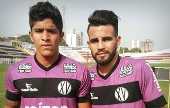 XV oficializa parceria com o Coritiba e recebe os dois primeiros jogadores