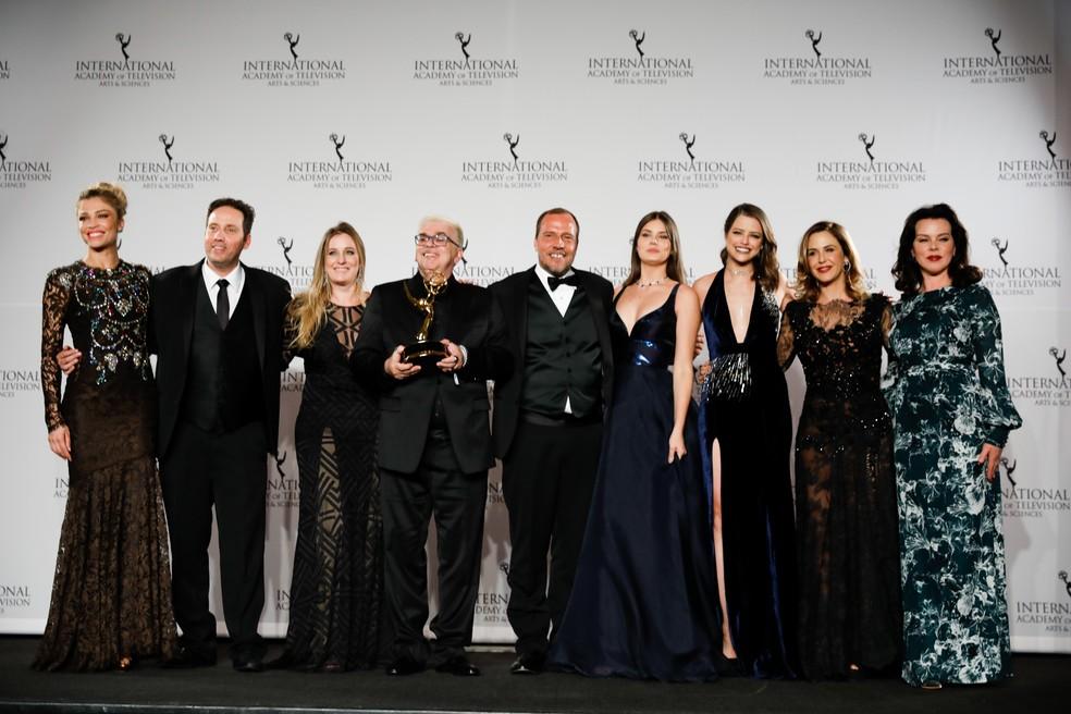 Verdades Secretas ganha o Emmy de Melhor Novela (Foto: Globo / Rodrigo Barbosa)