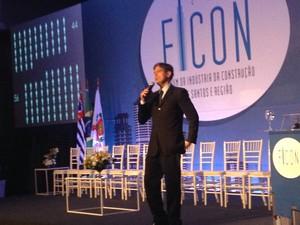 Economista Ricardo Amorim falou sobre os desafios da área (Foto: Rodrigo Martins/ G1)